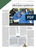 Una altra eina del projecte educatiu - Breu apunt de Jaume Funes a l'ARA 25 de febrer de 2012