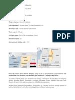 Syria Print