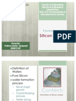 Formation of Silicon Wafers