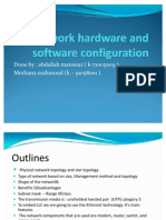 Network Hardware and Software Configuration
