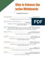 Whiteboard Sites