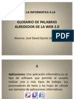 Glosario Conceptos de Web20