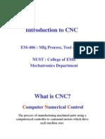 Intro to CNC