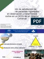 Evaluación de la satisfacción de los familiares de OBS- STC