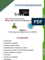 Fundamentos de Programación con Scilab