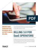 Activity based subscription billing for SaaS and ISVs - a white paper from www.tractbilling.com
