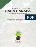 Dossier Estadístico del PFBC octubre 2011 colores