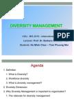 Team Diversity Management