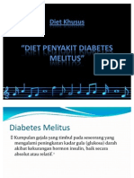 Diet Khusus - DM