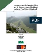 Typologie des groupements végétaux des Alpes d'Azur