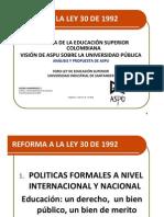 PolíticasPúblicasFORO UIS   ASPU Feb-2012