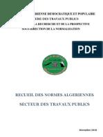 Recueil Des Normes Algeriennes 12 2010