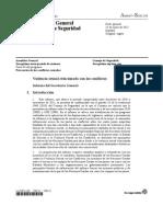 Informe ONU Violencia Sexual en Conflicto Armado 2012
