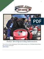 parker abed 2012 sponsor proposal