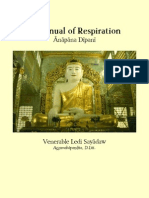 Ledi Sayadaw_2006_Ānāpāna Dīpanī - A manual of respiration