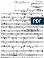 33310052 Will Grace Sheet Music Transcribed by Jonathan Klein
