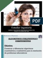 Algoritmos Cuantitativos y Cualitativos