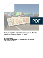 Shale gas regulation and reaction - for Facing the Oil Crisis (Doran)