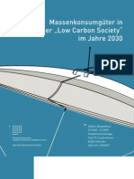Massenkonsum in einer Low Carbon Society 2030 | Marine Litter / Meeresvermüllung (Dimplomarbeit)