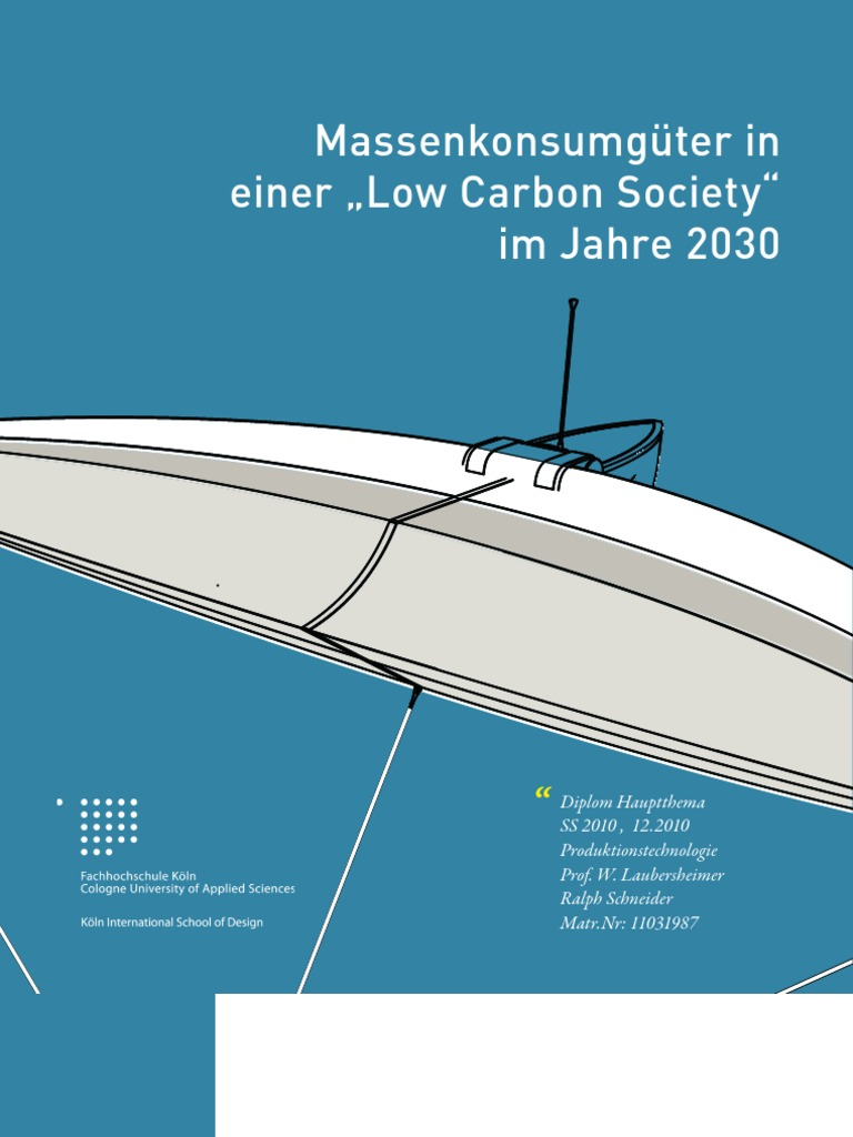 Massenkonsum in einer Low Carbon Society 2030 | Marine Litter ...