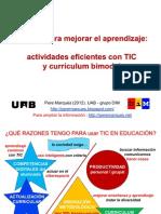 Innovar con TIC para mejorar el aprendizaje