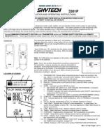 3301P Instructions