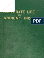 Corporate Life in Ancient India (1918)