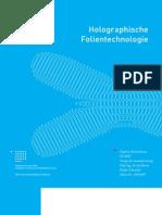 Holografische Folientechnologien _ documentation design thesis (german)