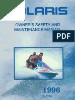 polaris 1996 slt780 owner's manual 02