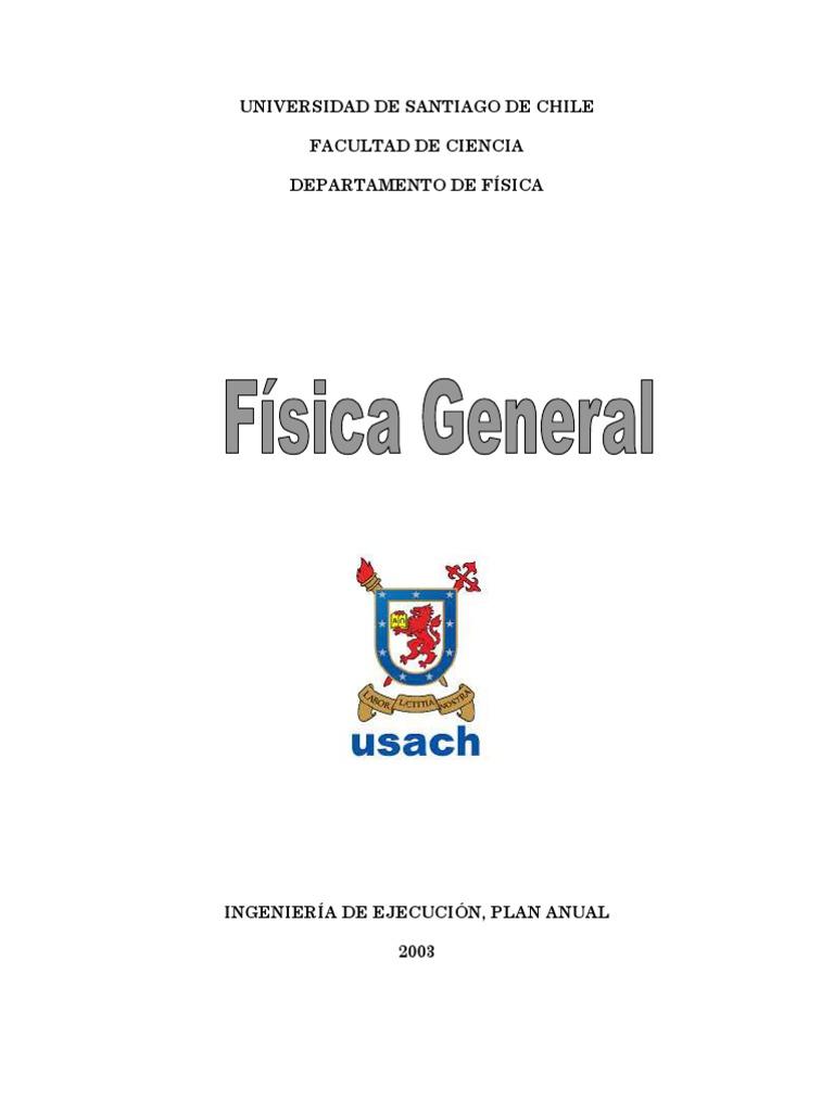Apunte Usach - Física General [Ejecución]