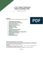 Campus Organizing Guide