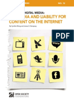 Mapping Digital Media Liability Content Internet 20110926