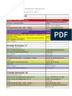 Gary Stager Schedule November 2008