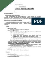 Regulamento 2012