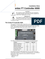 Cardax Ft Controller 6000pdf