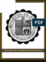 2012 Draft of the SAMAHAN Constitution
