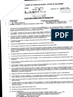 Timothy Paul Keim CF-2007-00132 Conditon of Probation