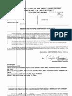 Timothy Paul Keim CF-2007-00132 Hearing to Revoke Probation