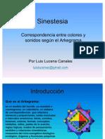 arkegrama sinestesia