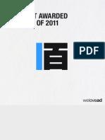 2011 წლის 100 ყველაზე აღიარებული რეკლამა
