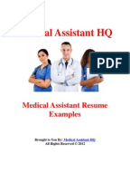 documents similar to medical assistant cover letter samples - Cover Letter Sample For Medical Assistant