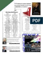 Renatus Bulletin 1.7.12