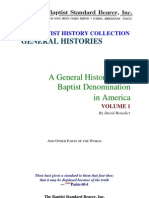 Benedict - General History of Baptist Denomination in America Vol 1