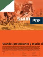 Shimano Catalog Spanish Spa 2008 Consumer MTB