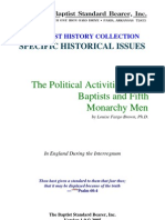 Brown - The Political Activities of the Baptists and Fifth Monarchy Men