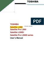 Toshiba Satellite L300 Manual