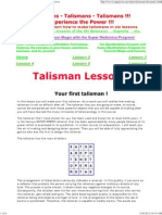 A Free Course in Making Talismans on Line, Introduction===1