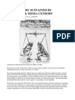 Irish Slavery Sustained by Historian & Media Censors