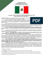 Profecía del Águila y la Serpiente de la Bandera de México.