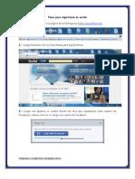 Pasos Para Registrarse en Scribd-wiziq-youtube